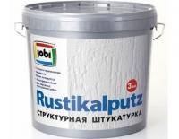 RUSTIKALPUTZ (РустикалПутц) «JOBI» акриловая структурная штукатурка для наружных и внутренних работ
