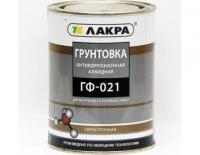 ГРУНТ ГФ-021 КРАСНО-КОРИЧНЕВЫЙ 1,0 КГ, «ЛАКРА»