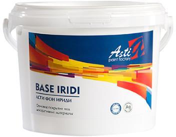 Грунтовка-краска  Акриловая Фон Ириди (Base Iridi) Фоновая краска под декоративные материалы