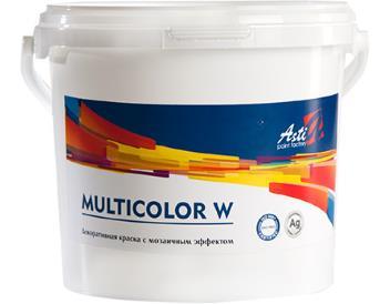 Мультиколор W (Multicolor) «АСТИ» декор. краска для внутр. работ