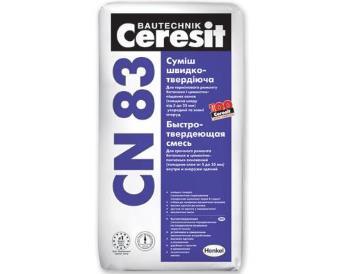 «Ceresit» CN 83, 25 кг ремонтный раствор