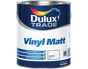 DIAMOND MATT DULUX краска для стен и потолков, износостойкая, моющаяся, матовая, белая