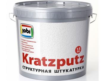 KRATZPUTZ (КратцПутц) «JOBI» акриловая структурная штукатурка для наружных и внутренних работ