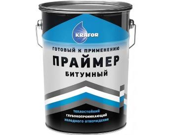 Праймер битумный, 16кг/20л «Крафор»