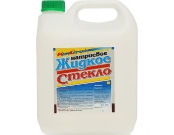 Жидкое стекло, 6 кг «КОНСТРУКТОР»