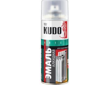 Краска для радиаторов белая 520 мл, «KUDO»