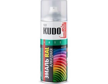 Краска зеленая «KUDO» аэрозоль, 520 мл