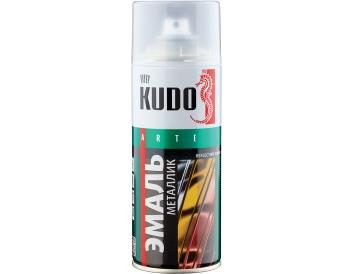 Краска-аэрозоль серебро металлик «KUDO», 520 мл