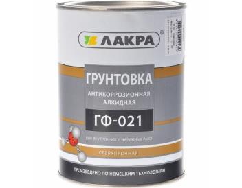 Грунт ГФ-021 серый 1,0 кг «ЛАКРА»