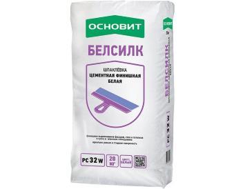 Шпатлевка Цементная Финишная Белая 20кг «ОСНОВИТ»