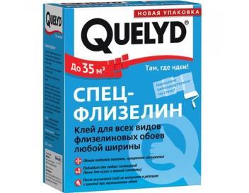 Клей для флизелиновых обоев «Спец -Флизелин» QUELYD, 300 гр