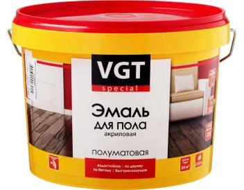 Краска водная для пола бежевая, 2,5 кг «VGT»