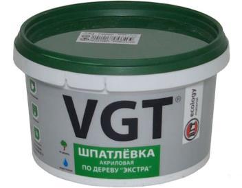 Венге Шпатлевка по дереву Экстра, 0,4 кг «ВГТ»